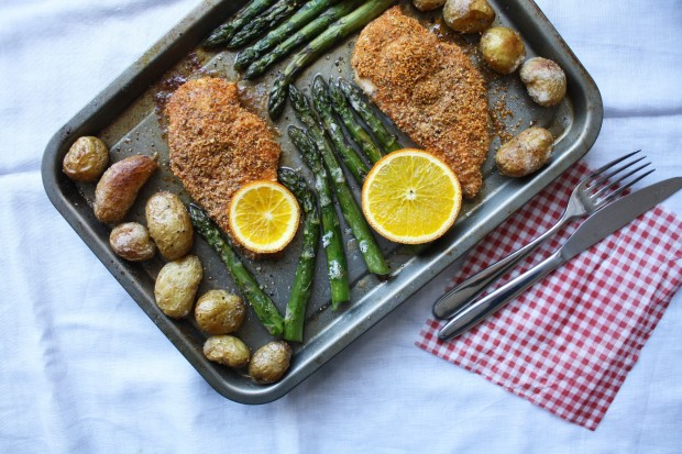 One pan gluten free chicken and asparagus wish to dish (10)