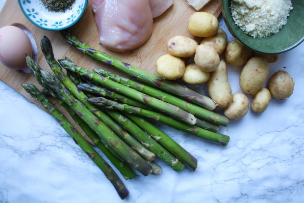 One pan gluten free chicken and asparagus wish to dish (3)
