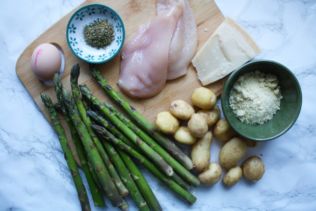 One pan gluten free chicken and asparagus wish to dish (4)