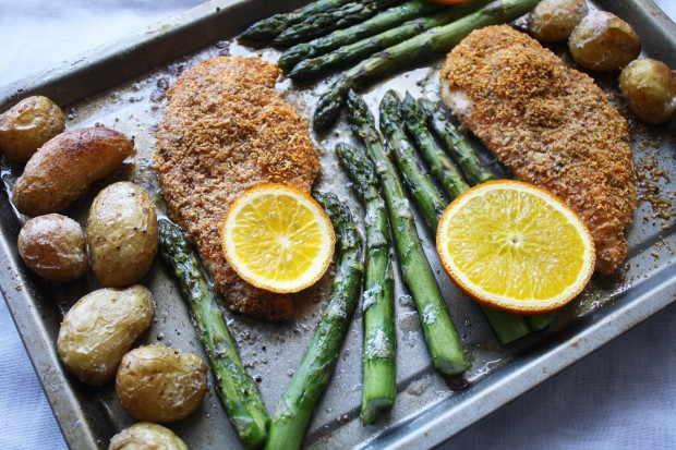 One pan gluten free chicken and asparagus wish to dish (5)