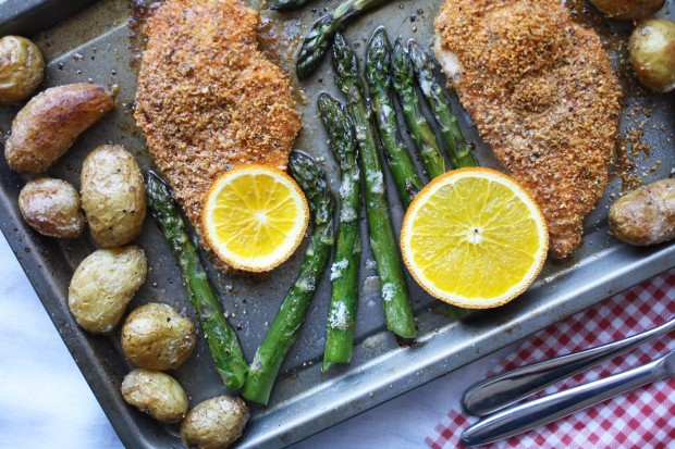 One pan gluten free chicken and asparagus wish to dish (8)
