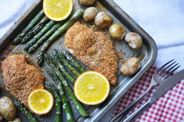 One pan gluten free chicken and asparagus wish to dish (9)
