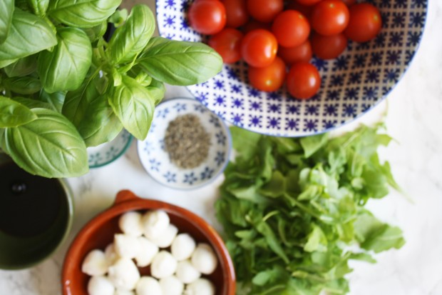 caprese salad recipe wish to dish