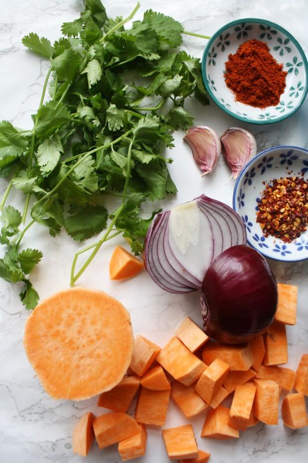 Sausage and sweet potato shakshouka recipe wish to dish (8)