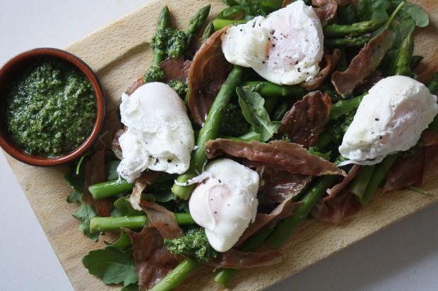 wish to dish pesto asparagus and eggs recipe (7)