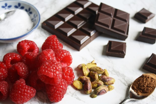Spiced chocolate and raspberry pot recipe wish to dish (19)