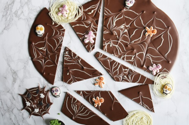 Chocolate halloween slab wish to dish recipe (14)