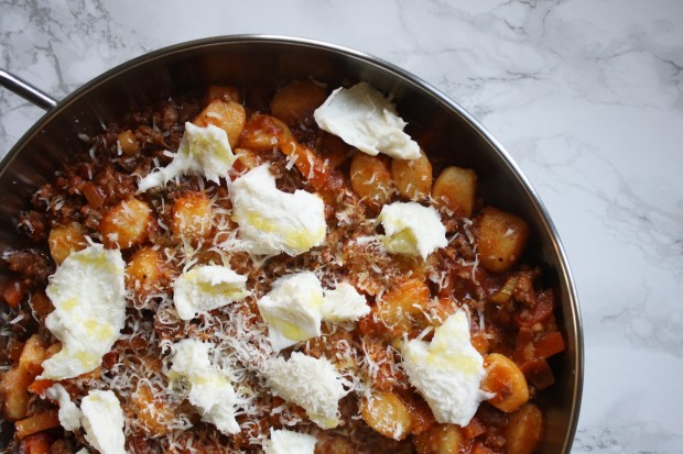 gnocchi bololgnese recipe wish to dish (4)