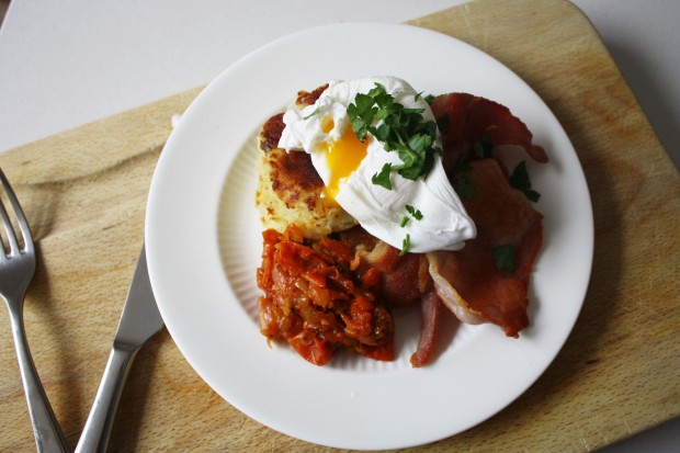 potato rosti and tomato relish brunch recipe wish to dish (5)