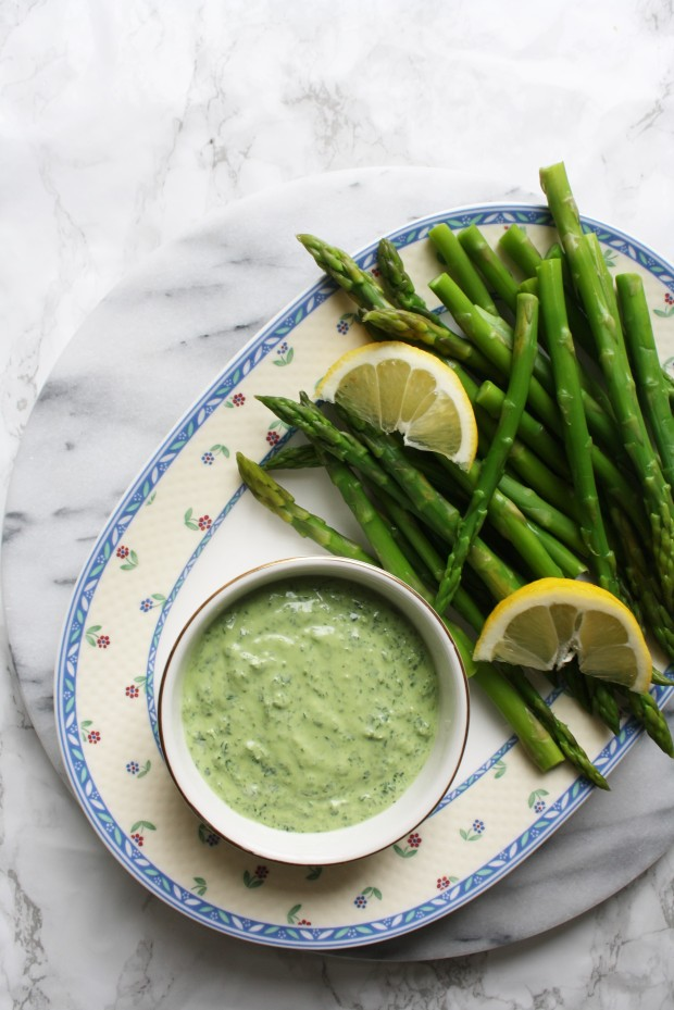 Asparagus with ricotta dip wish to dish recipe (9)