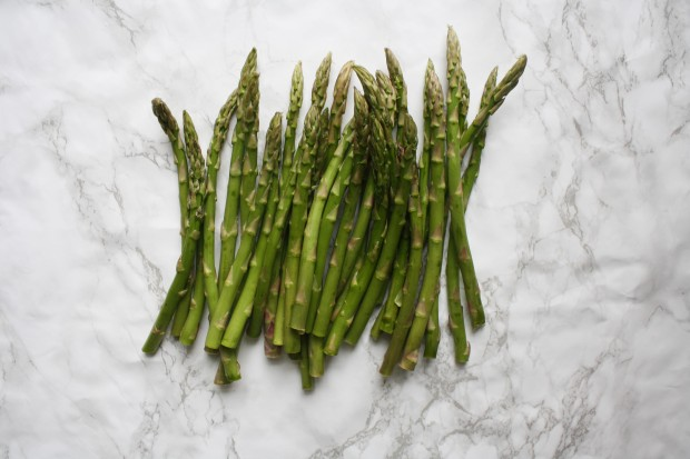Asparagus with ricotta dip wish to dish recipe