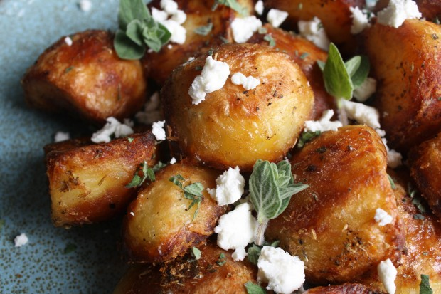 oregano and feta roast potatoes wish to dish recipe (4)