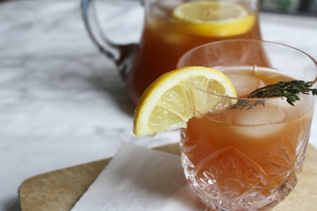 Peach ice tea recipe wish to dish (3)