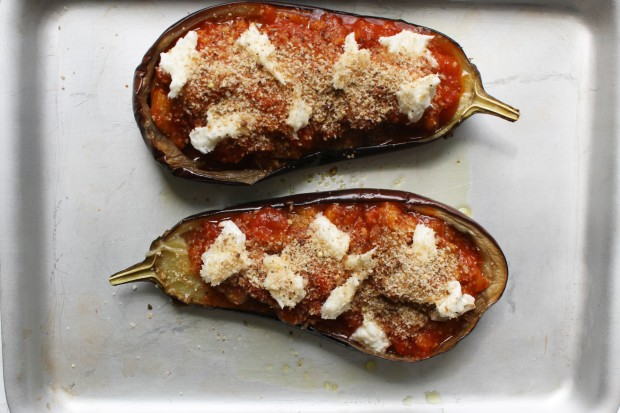 Aubergine parmigiana recipe wish to dish (3)