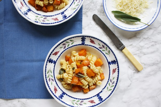 Brown Butter and Butternut Squash Pasta recipe wish to dish (12)