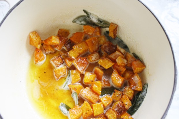 Brown Butter and Butternut Squash Pasta recipe wish to dish (7)
