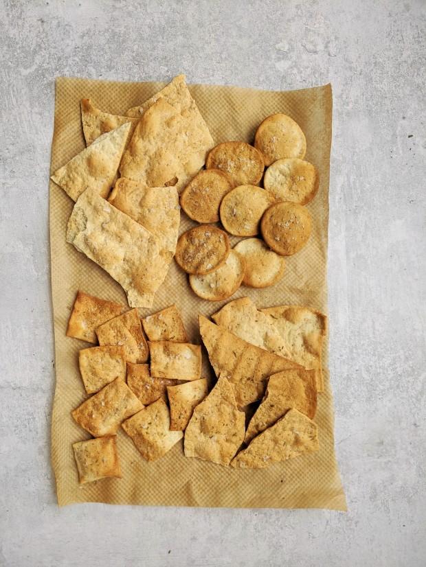 sourdough discard cracker recipe wish to dish 3